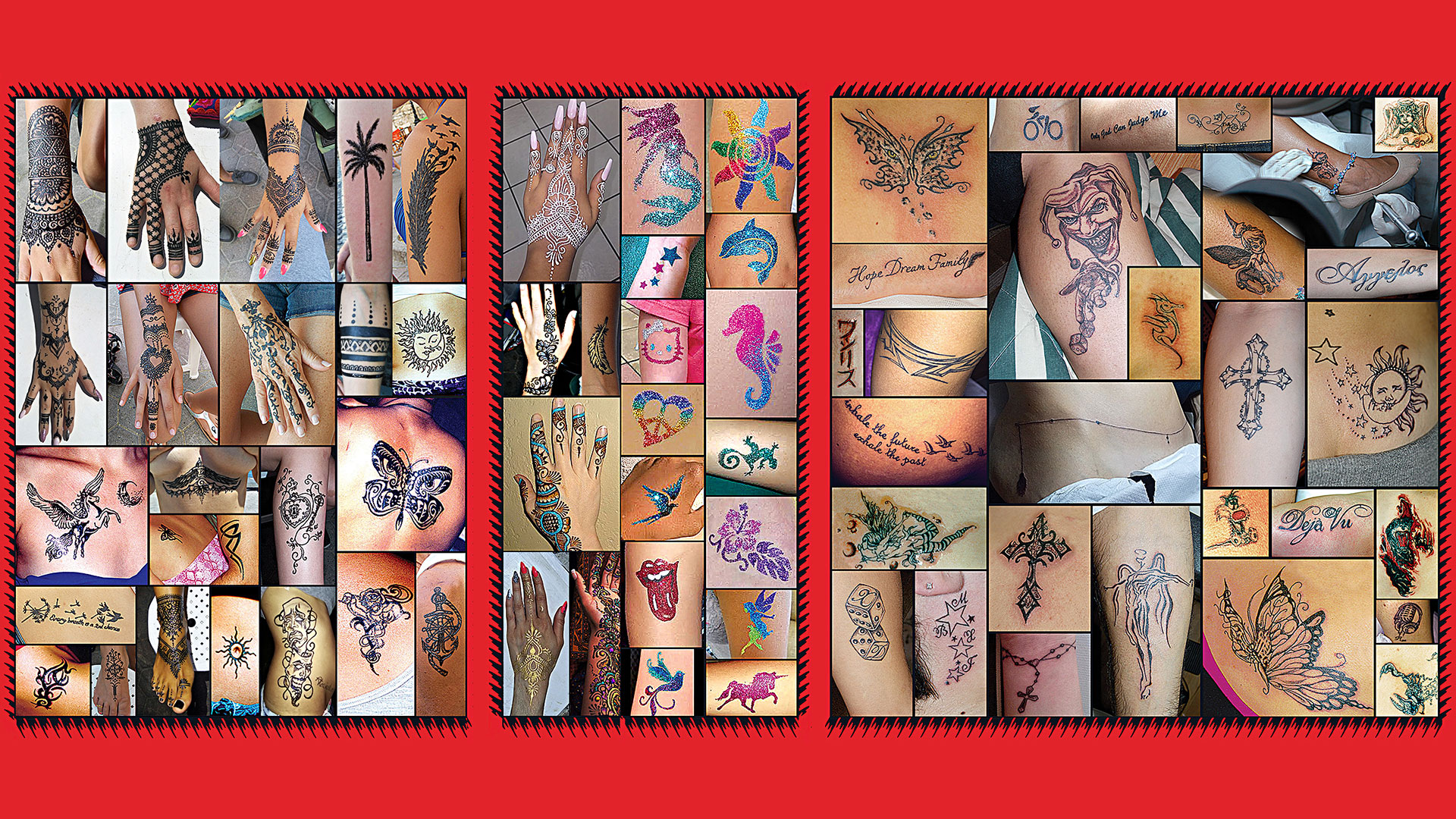 free hand body art & Tattoo